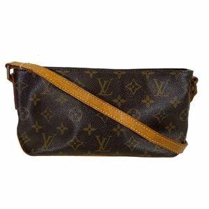 Louis Vuitton Crossbody bag Trotteur Brown monogrm